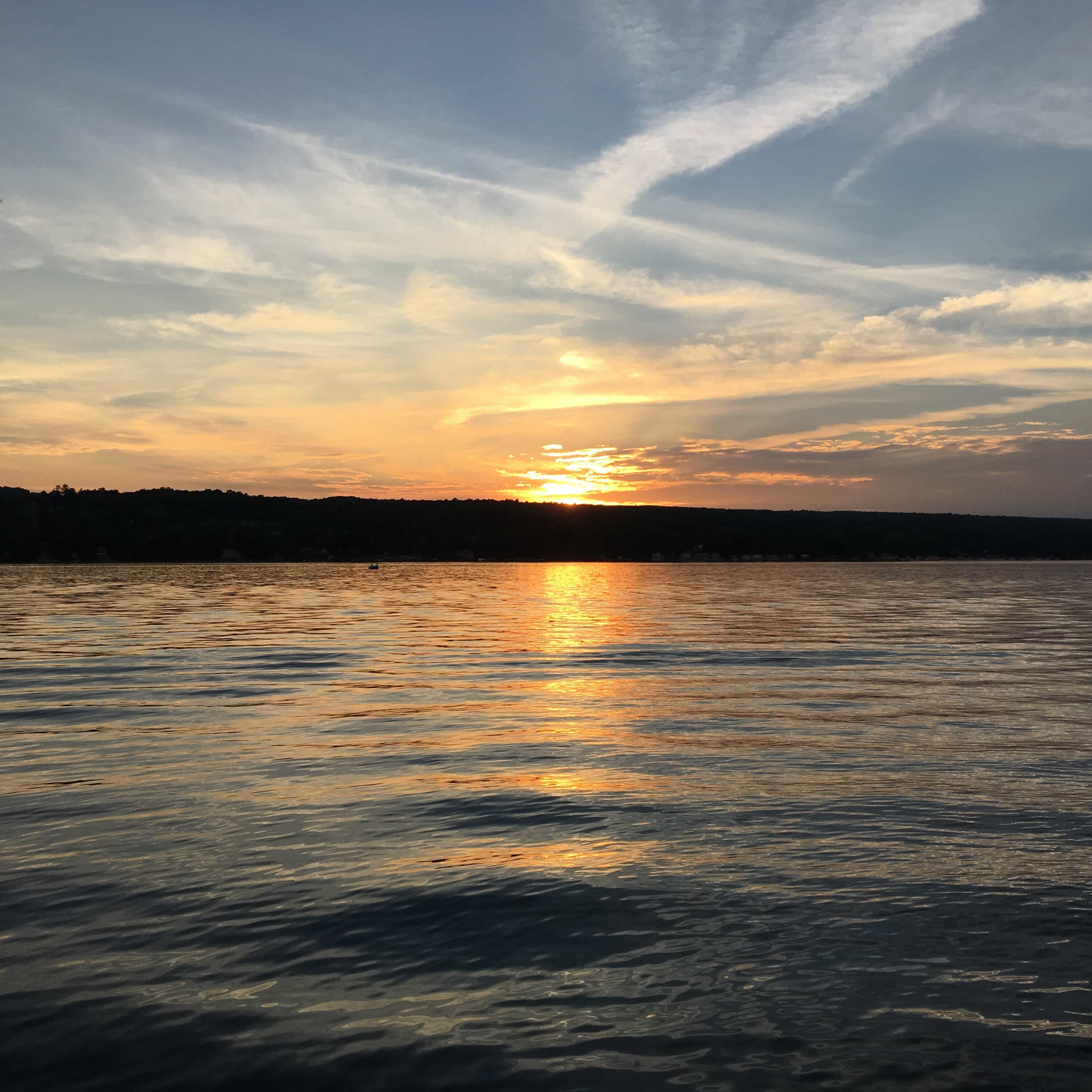 Sunset on Keuka Lake
