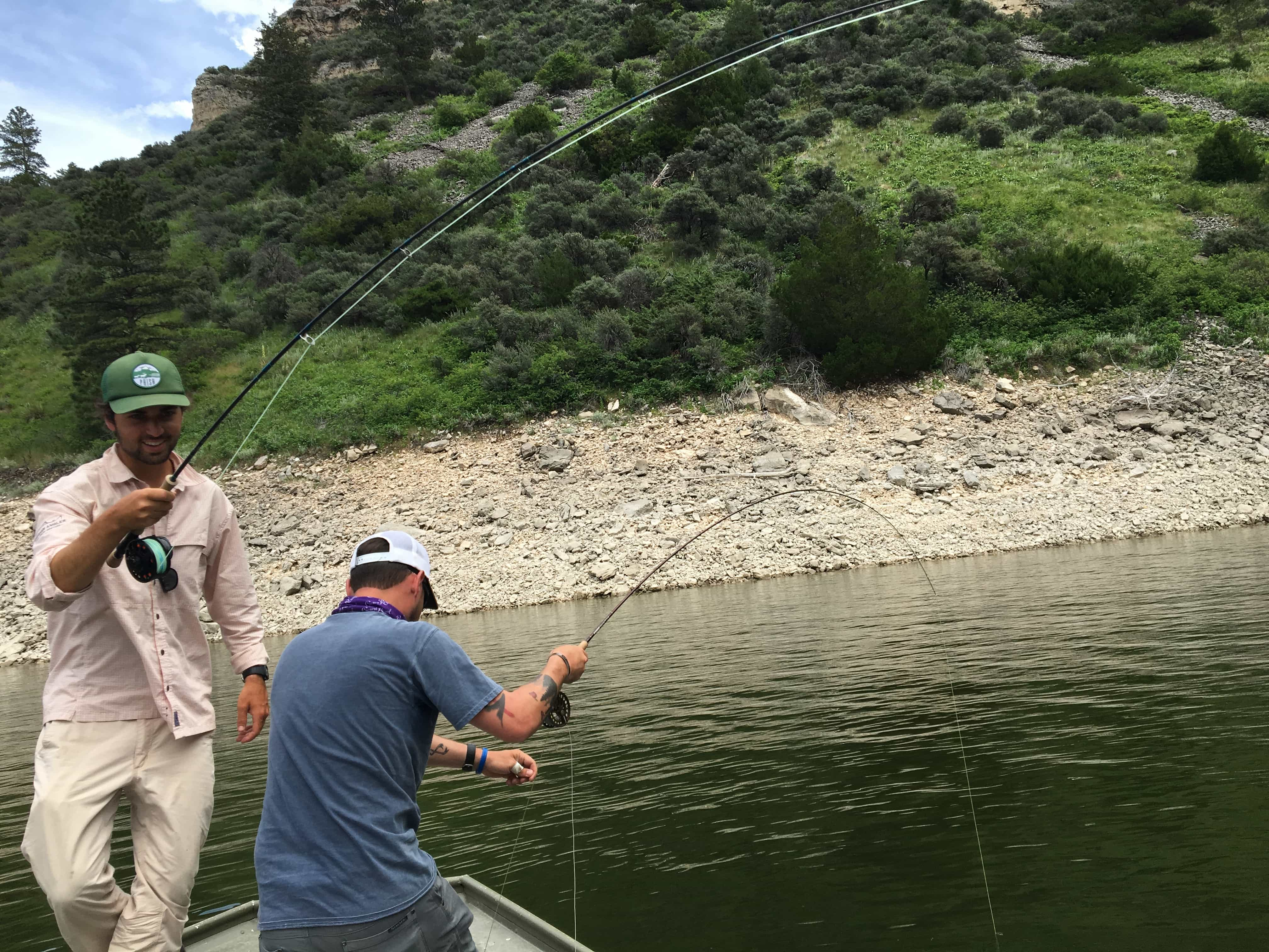 """Doubled up on carp in MT - one of my """"epic"""" trips for the year"""