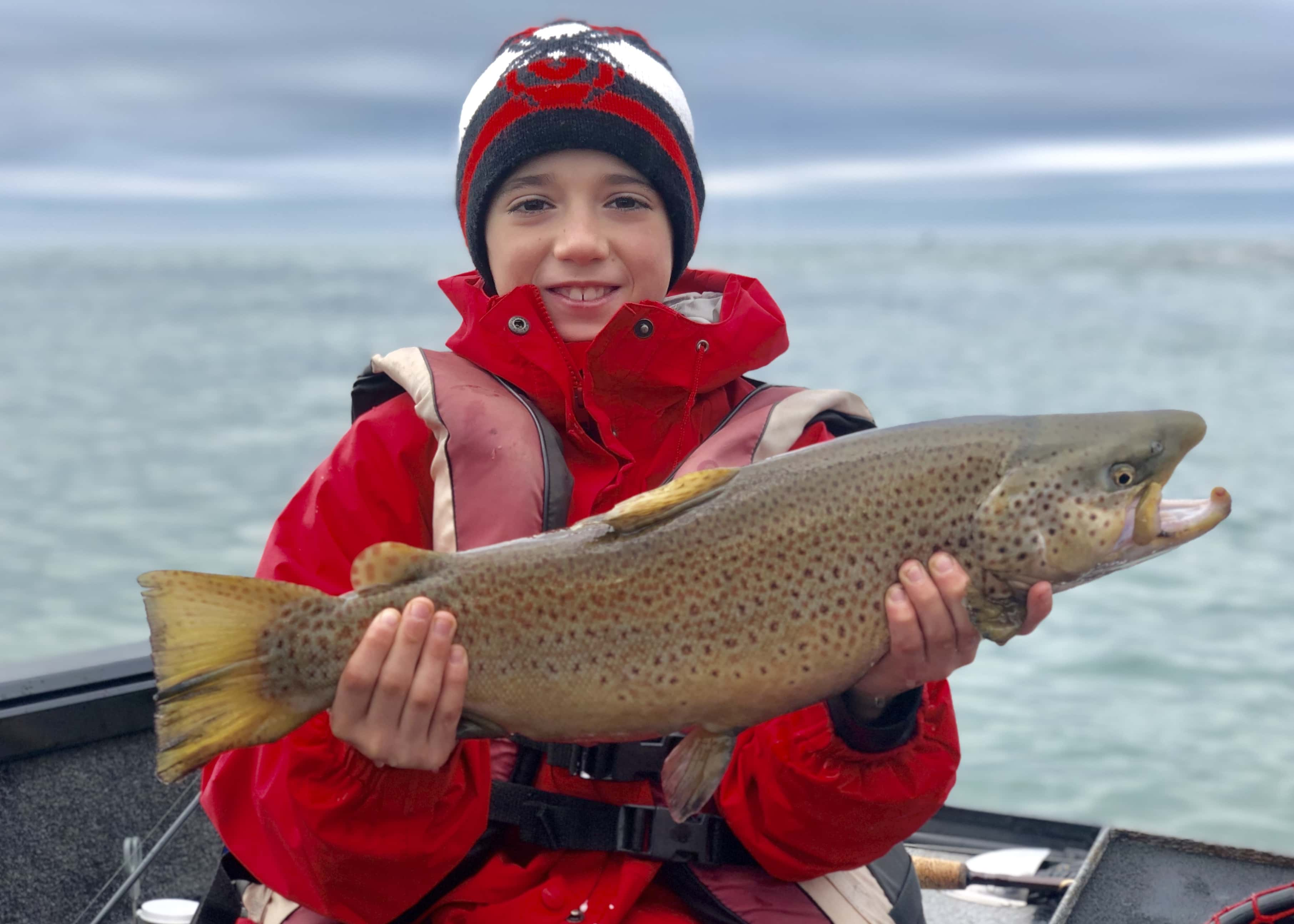 Winter Charter Fishing in Buffalo Niagara